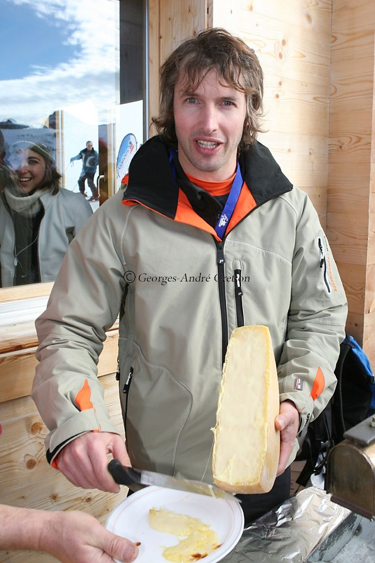 James Blunt | Inauguration of a new chair lift in the Swiss ski resort of Verbier, 20 January 2007. #JamesBluntChairlift #Attelas