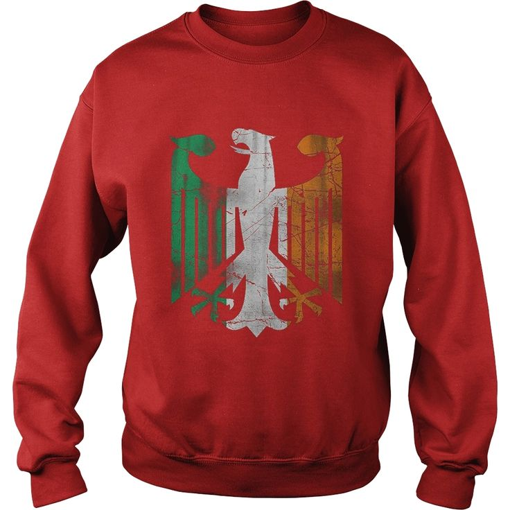 Vintage German Irish Flag Eagle Family Heritage T Shirt, Order HERE ==> https://www.sunfrog.com/Holidays/114075565-433615838.html?47756, Please tag & share with your friends who would love it, redhead men, ginger tea, ginger root #parenting, #photography, #products
