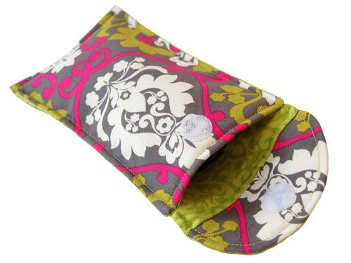 sunglasses case, something I genuinely need, & good opportunity to improve my sewing skillz