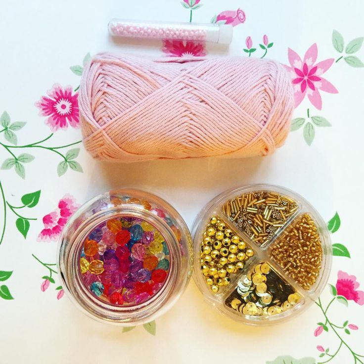 We on Facebook: http://ift.tt/2jRHDjd Beautiful Beaded Jewelry #underbeads by @underbeads Check our #AmazingPhoto WEBSTA: Skal lige prøve at hækle noget  med perler....  #hækle #hæklerier #hækling #hæklefreak #crochet #crocheting #crochetlove #kreativ #perler #perlehækling #beadcrochet #handmade #håndlavet #håndarbejde #forår