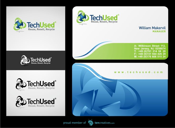 Logo for IT/Electronics Recycling Company by ulahts