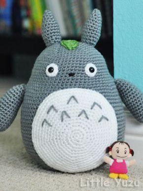Big Totoro crochet pattern - amigurumi anime