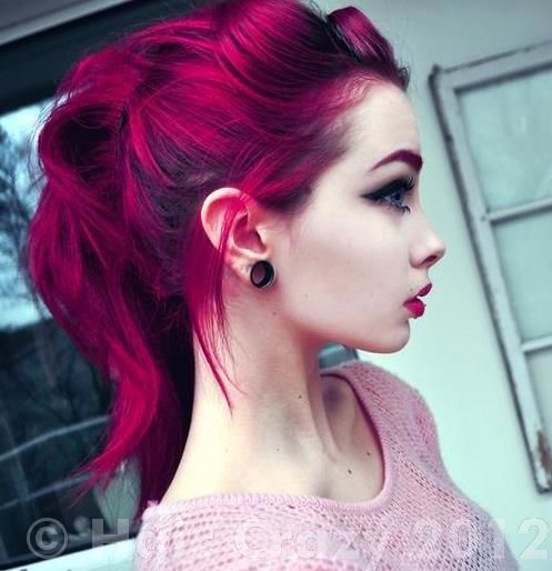 Haare rot farben directions