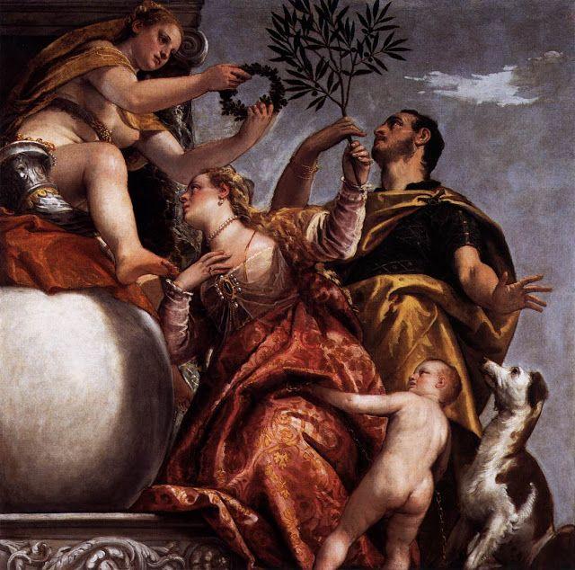 Αλληγορία  Αγάπη - Ευτυχισμένη ένωση (1575)