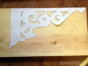 How to make your own corbels! {Sawdust and Embryos}