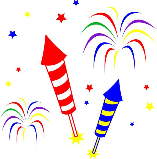 Fireworks Clip Art Free - Cliparts.co