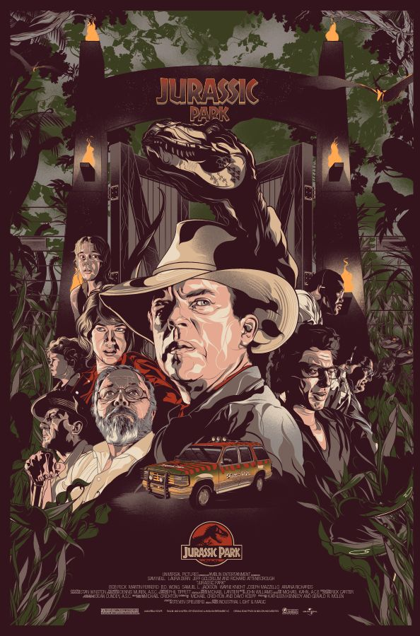 Jurassic Park by Vincent Rhafael Aseo                              …