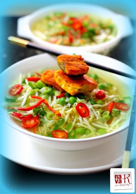Thai Salmon Noodles Soup | Asian recipes, etc | Pinterest