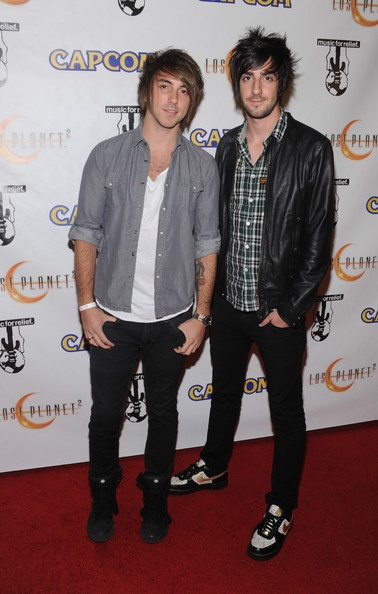 both of you. just stop it right now.  Alex Gaskarth. Jack Barakat.