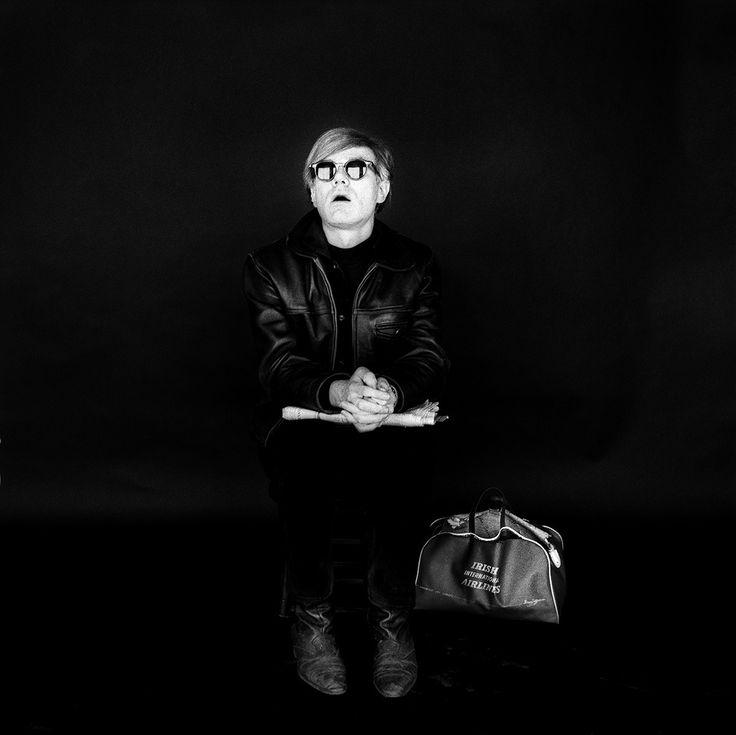 Andy Warhol, 1966, by Jerry Schatzberg.
