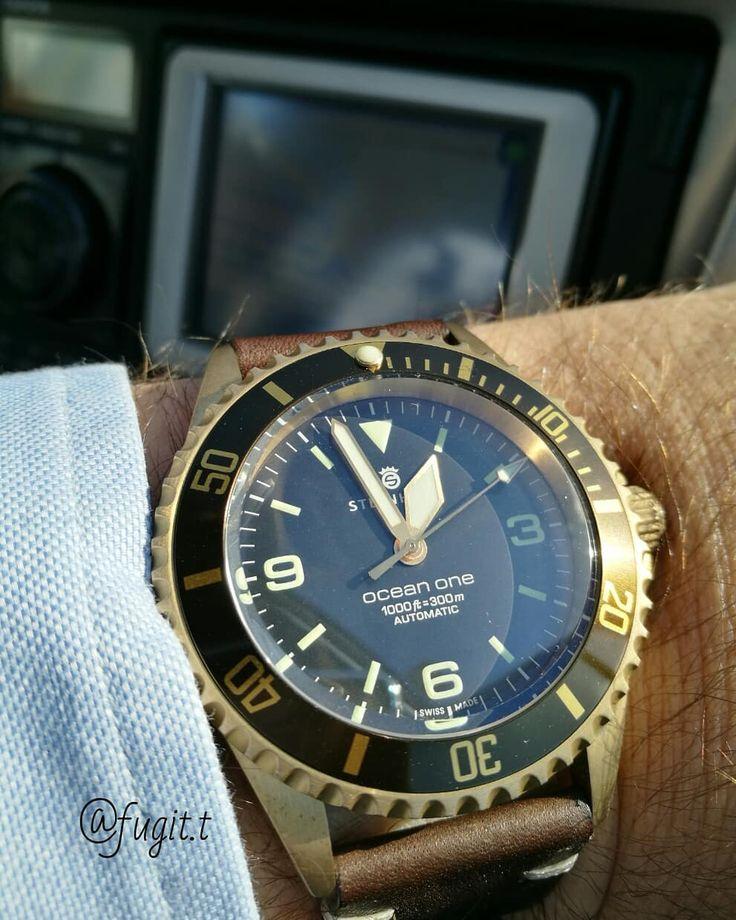Steinhart Ocean one bronze #watchesofinstagram#steinhartwatches#watchesofinstagram #steinhartwatches #chronographgram#watchporn #instawatch#chronograph #igerswatch#time#tempusfugit #relojes #montres #orologio#uhr #mechanic #pilot #black#pvd #wristwatch #reloj #jaguar #watchporn#time#watchfan#watchaddict #steinhartwatchesofficial