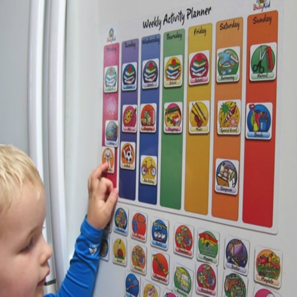 Weekly Calendar Autism : Best images about toddler routine chart on pinterest