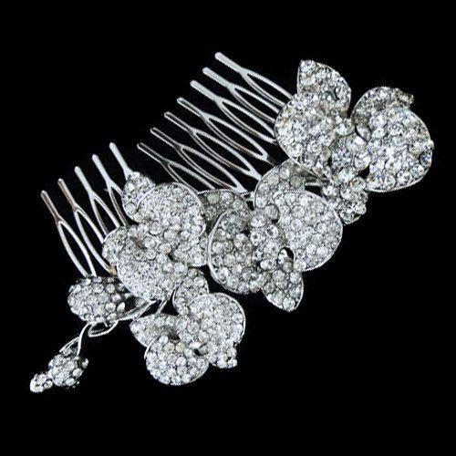 Ispirazione vintage cristallo Swarovski capelli pettine Tiara, copricapo da sposa, sposa accessori da sposa, damigella d'onore gioielli-109433105 on Etsy, 22,31€