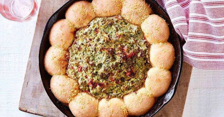 Satisfy hungry guests with this baked spinach dip guaranteed to please.