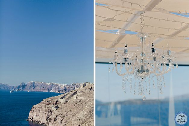 Luxury Villa | Santorini Wedding by Stella and Moscha - Exclusive Greek Island Weddings | Photo by Anna Roussos | http://www.stellaandmoscha.com/wedding-photos/private-villa-wedding/