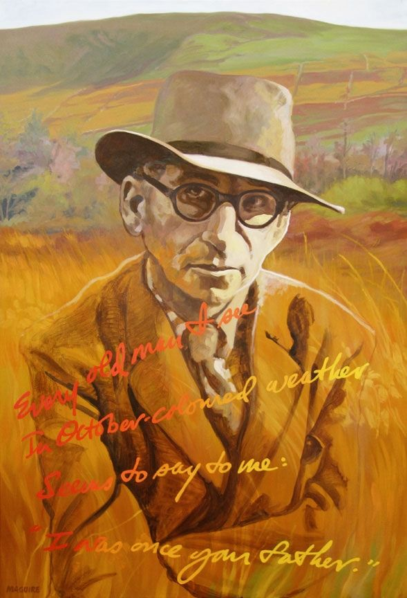 Patrick Kavanagh by Barrie Maguire on ArtClick.ie