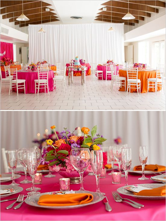 Bright, bold beautiful wedding. #weddingchicks Captured By: Rachel V Photography http://www.weddingchicks.com/2014/07/02/bright-bold-beautiful-wedding/