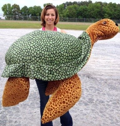 Giant Turtle Pillow Amazon Com Giant Stuffed Turtle 5 Feet Long