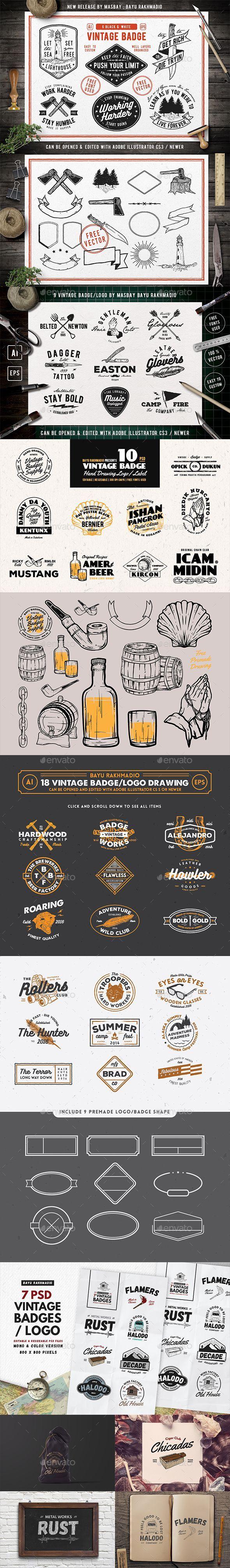 Mejores 50 imágenes de Badge Logo Template en Pinterest   Logotipo ...