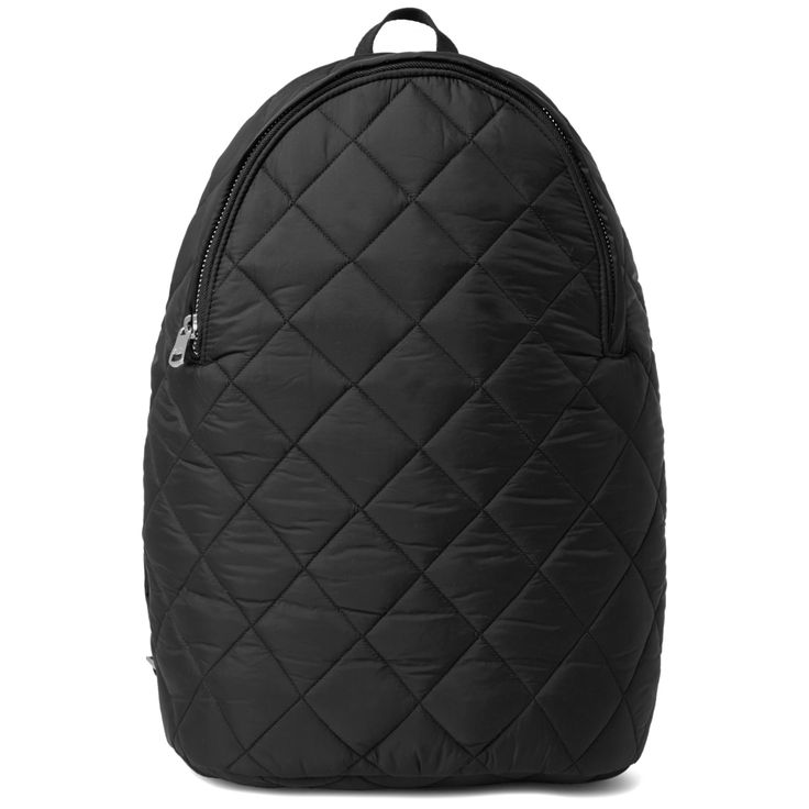 Made from a quilted nylon canvas, this spacious backpack from Parisian label A.P.C. is ideal for everyday use. With adjustable padded straps, reinforced bottom and a soft cotton lining silkscreen printed with the A.P.C logo.  Silver Metal Hardware Branded Zipper Pull  Adjustable Padded Straps  Silver-tone Zipper With Branded Pull Presented In Woven A.P.C Display Bag
