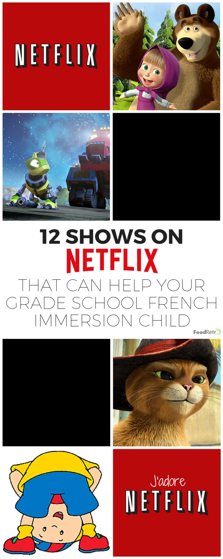 12 Shows on Netflix That Can Help Your Grade School French Immersion Child