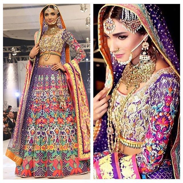 What do we think about this gorgeous colorful bridal wear from @nomiansari Marjaan collection! Don't forget to #mydesilook to be featured on our page or DM us! #pakistani #pakistan #pakistanifashion #pakistanicouture #desifashion #desilook #desigirl #pakistanidress #pakistanistyle #paki #indianfashion #indianclothes #pakistaniclothes #pakistaniculture #moderndesi #lengha #dulhan