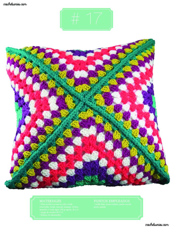 Crochet Almohadones #17