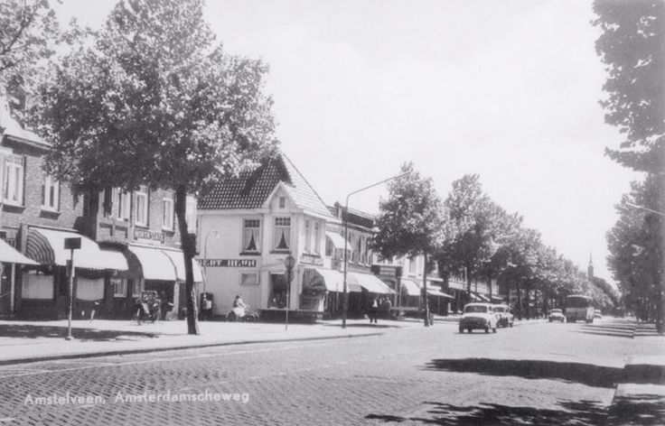 Amsterdamseweg Amstelveen (jaartal: 1970 tot 1980) - Foto's SERC