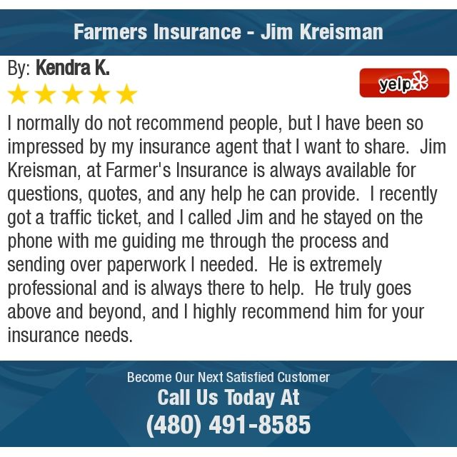 I Normally Do Not Recommend People But I Have Been So Impressed By My Insurance Agent Farmers Insurance Insurance Agent Insurance