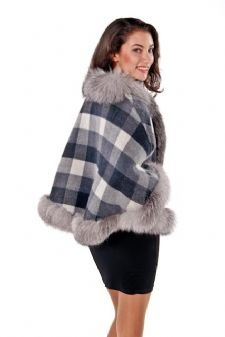 100% Cashmere Capes are sold in all colors at MadisonAveMall! $995 (click picture to see reverse side and other colors offered)