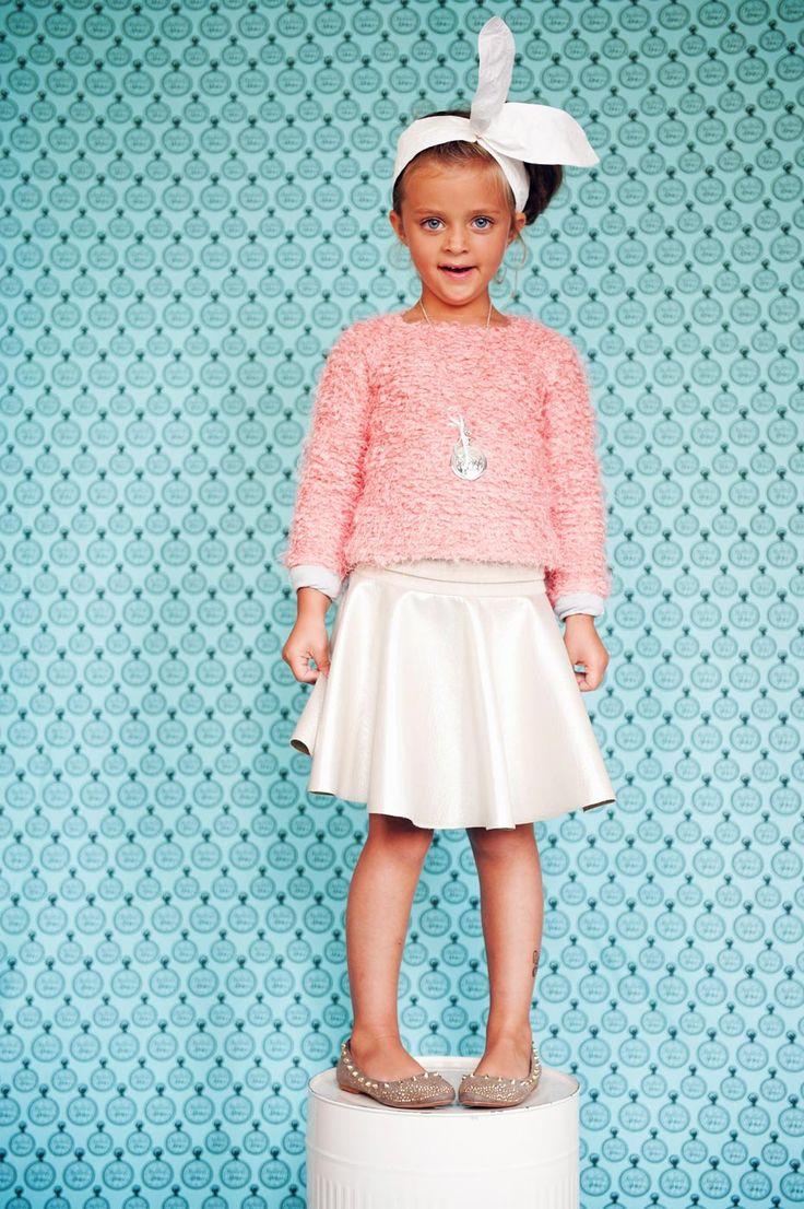 WONDER girl in WONDER skirt! skirt 139 pln sweater: 139 pln