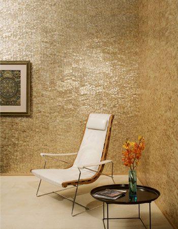 25 beste idee n over goud behang op pinterest - Deco romantische kamer beige ...