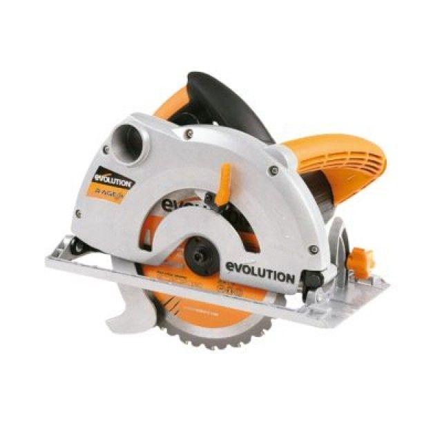 Evolution RAGE1B1852 1200W 185mm Multipurpose Circular Saw 230V | Screwfix.ie