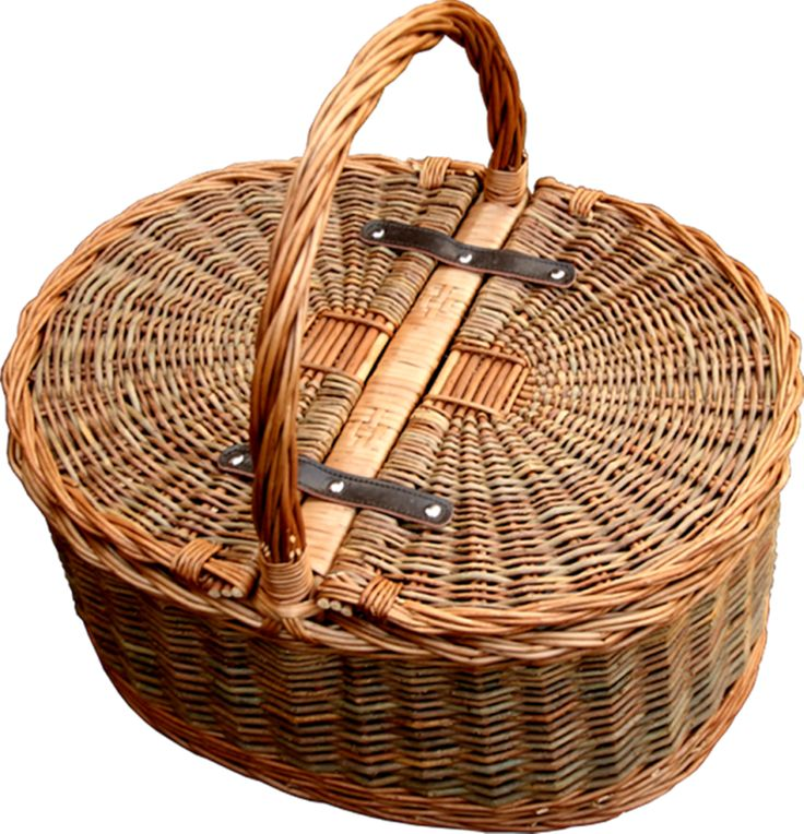 Red Hamper - Two Tone Oval Picnic 2 Lid Twist Handle Empty Picnic Basket, £41.88 (http://www.redhamper.co.uk/two-tone-oval-picnic-2-lid-twist-handle-empty-picnic-basket/)