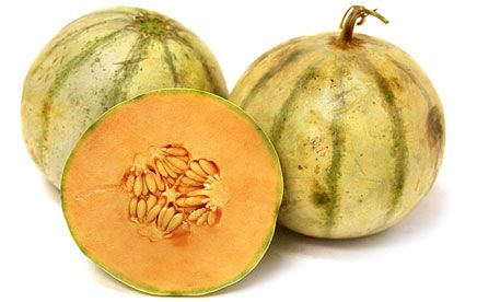 Charentais melons, also known as French cantaloupes are a highly valued yet low production farmers market variety of cantaloupe that are too delicate for commercial shipping.