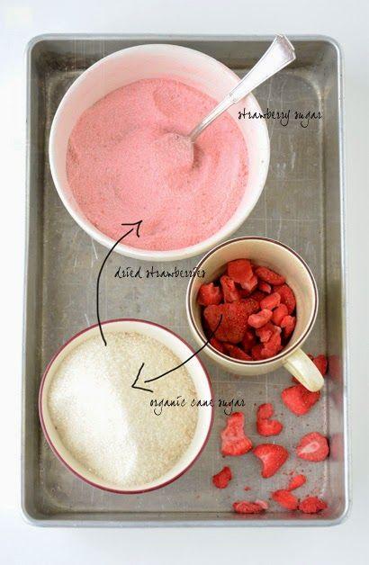 Truskawkowy cukier