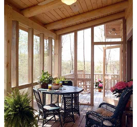 1000 Ideas About Screened Back Porches On Pinterest Back Porches