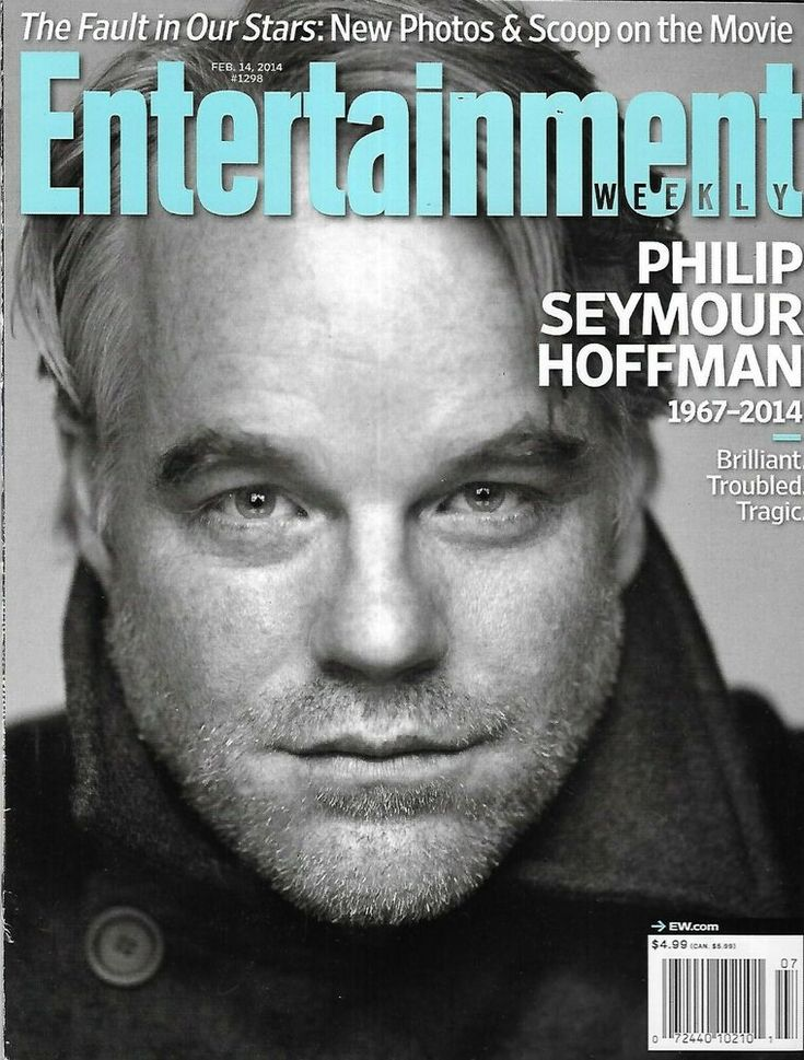 Entertainment Weekly Magazine Philip Seymour Hoffman Keri