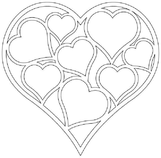 Templates for cutting the heart 9 craft ideas for Heart template for sewing
