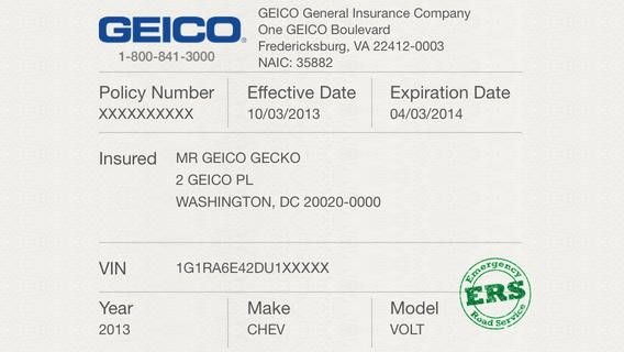 Proof Of Auto Insurance Template Free Geico Car Insurance Insurance Quotes Insurance Printable