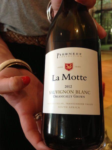 Organic wine @ La Motte in Franschhoek, South Africa
