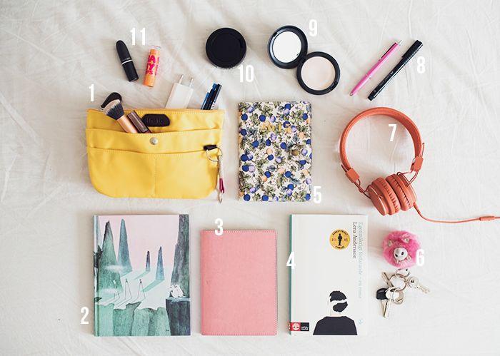 AMANDAJNSN  - Vad som finns i min väska. http://amandajnsn.se/2015/april/vad-som-finns-i-min-vaska.html