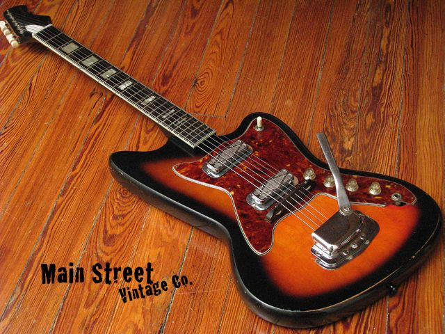 Reserve cheap vintage guitar