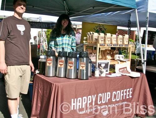 Make it a Happy Monday with a cup of Happy Cup Coffee Roasting, This Portland based company provides employment and programs for people with disability. And if that is not feel good enough, they make every effort to source ethically traded coffee, creating a better future locally and globally. #welldone #coffee #Monday #dogood