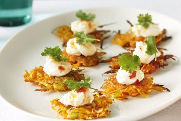 Sweet potato latkes main image
