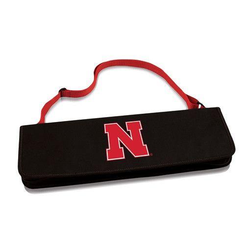 University of Nebraska Metro BBQ Tool Set w/Digital Print