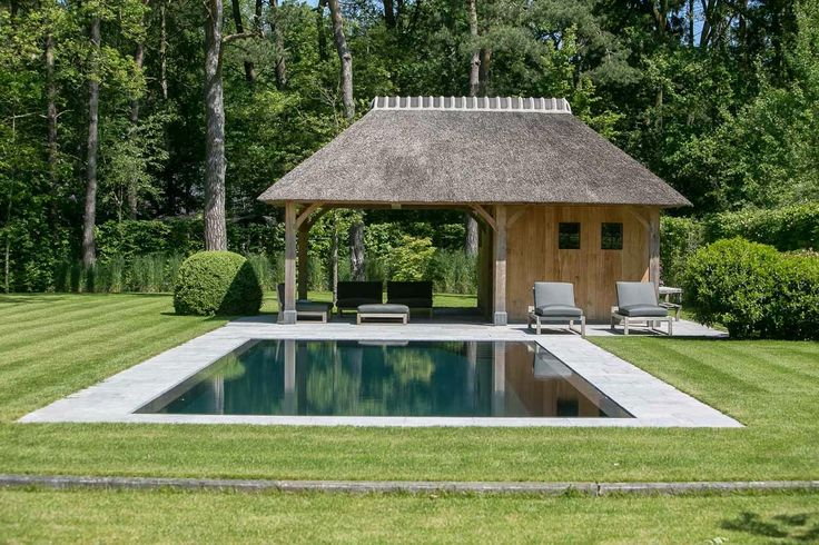 Simplicity Love: House VM, Belgium | 'D' Architectural Concept oakwood poolhouse