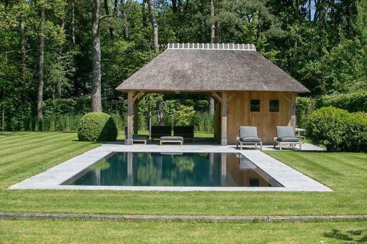 Simplicity Love: House VM, Belgium | 'D' Architectural Concept oakwood poolhouse
