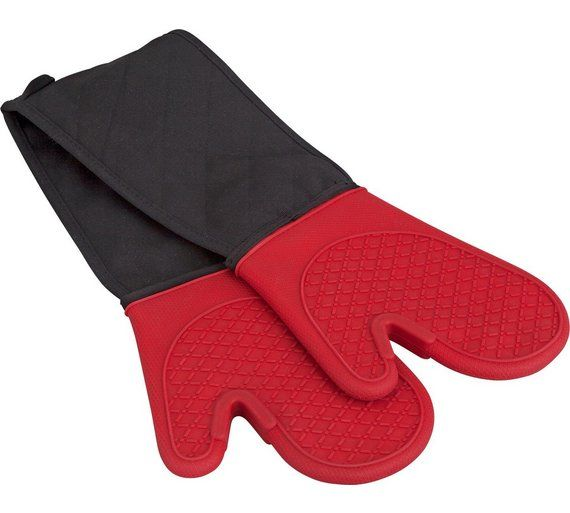 Buy HOME Silicone Double Oven Glove at Argos.co.uk, visit Argos.co.uk to shop online for Tea towels, aprons and oven gloves, Kitchenware, Cooking, dining and kitchen equipment, Home and garden