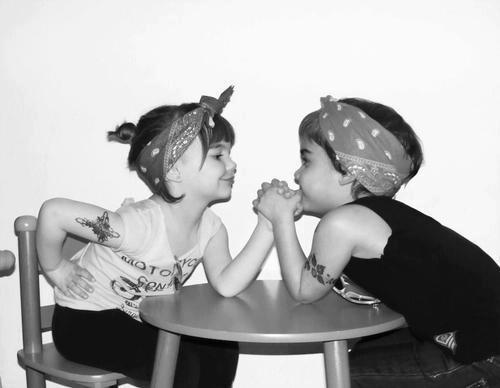 cutest rockabilly kids ever!!